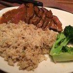 Steak and parmesan rice.