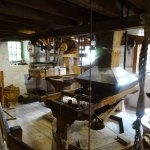 The milling area