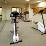 Our on-site fitness center ensures you will not miss your workout