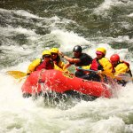Rafting in CO.