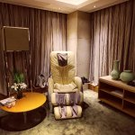 Our Suite with our own massage chair