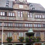 Das Rathaus in Tübingen