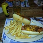thier chili dogs for summer fu to die for