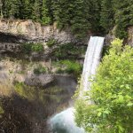 Brandywine falls, a stop on the drive