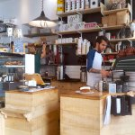 Mokxa -- speciality coffee shop in the Old Town of Lyon.