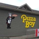 L'esterno di Pizza Boy