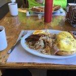 Eggs Benedict Breakfast Special