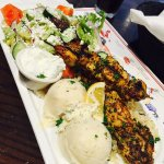chicken souvlaki, amazing