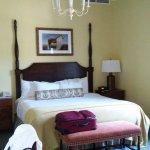 Guest room at the Otesaga