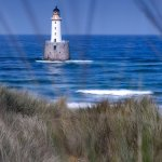 Rattray head lighthouse and beach