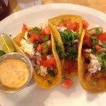 Fish Tacos for breakfast! Yay!