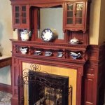 Colonel Taylor Inn B&B fireplace