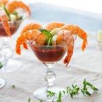 Local shrimp cocktail