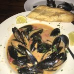 Mussels Diablo at Kody's