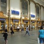 Der Westbahnhof ist einer der drei Budapester Kopfbahnhöfe
