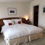 Schlafzimmer Suite in der Remise.