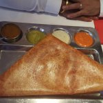 Authentic South Indian taste at a very good value.