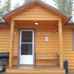 Front of front of Deer Crossing cabin (#7)