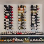 Wine racks at The Art Of Wine