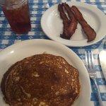 Gluten Free Pancakes & Bacon