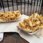 Harpers Fish & Chips Wet Wang Medium Chips