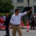 Justin Trudeau visits Port Credit, Canada Day Parade 2015