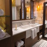 Room and bath amenities