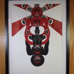 Northwest Coast Art original painting for viewing and for sale.