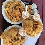 Sumptous fish and chips