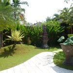 Our villa grounds