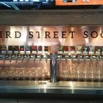 The beers on Tap