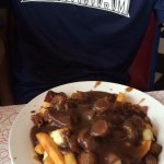 Wimpy's Poutine (Fries, sausage & bacon, cheese curds, and gravy