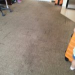 Carpet needed cleaning/replacing