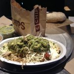 My favorite = the carnitas bowl. The guac is a little extra but well worth it!