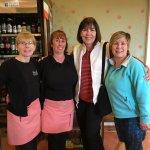 With Staff Members Stephanie & Natasha