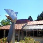 Statue and Sunnyvale Theatre, Sunnyvale, CA