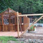 Garen and greenhouse