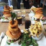 enormous burgers