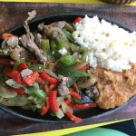 Fajitas Los Telares - the best fajitas we've ever had!
