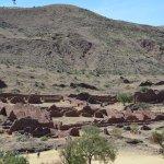 Una foto general de las ruinas