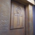 The Egyptian Tomb Entrance