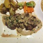 Main Meal Al fungi Scallopini