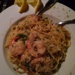 Delicious Shrimp Scampi in garlic white wine sauce