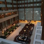 View of the lobby area from the 13th floor