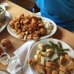Fried Shrimp Platter :-)