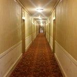 Creepy, unkempt hallway