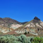 John Day Fossil Beds National Monument- Sheep Rock