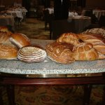 Bread Trolley - Nine choices baked daily