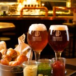 Bar hall and special BeerHouse branded glasses