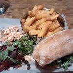 Two mains for £10 lunch menu - Steak sandwich